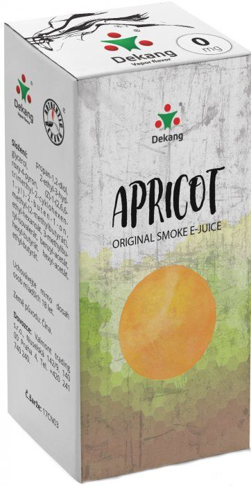 MERUŇKA - Apricot - Dekang Classic 10 ml