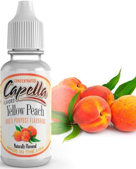 SLADKÁ ŠŤAVNATÁ BROSKEV / Yellow Peach - Aroma Capella