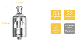 aSpire Nautilus 2 clearomizér - 2,0 ml