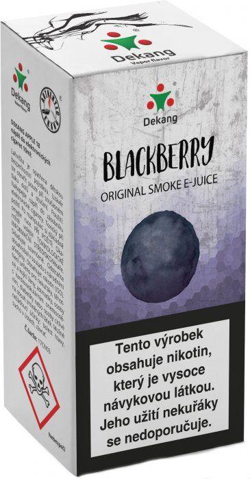 OSTRUŽINA - Blackberry - Dekang Classic 10 ml
