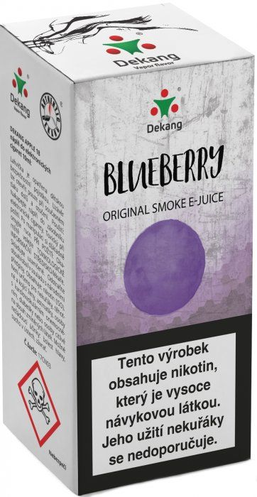 BORŮVKA - Blueberry - Dekang Classic 10 ml