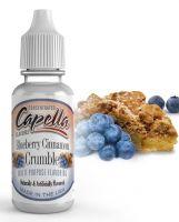 BORŮVKOVÝ KOLÁČ / Blueberry Cinnamon Crumble - Aroma Capella 13ml