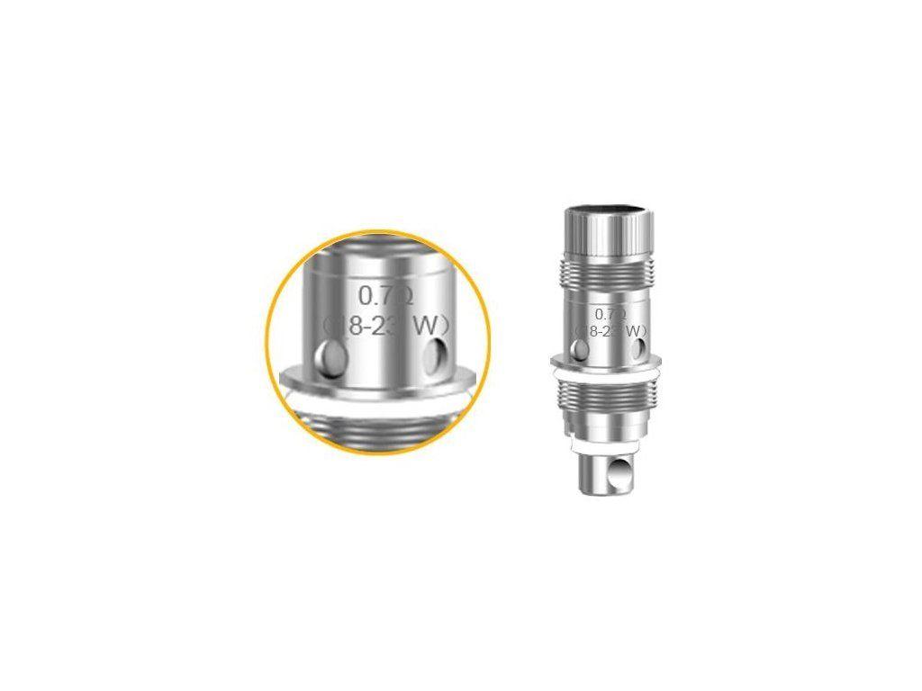 Aspire Nautilus 2 BVC žhavící hlava - 0,7 ohm