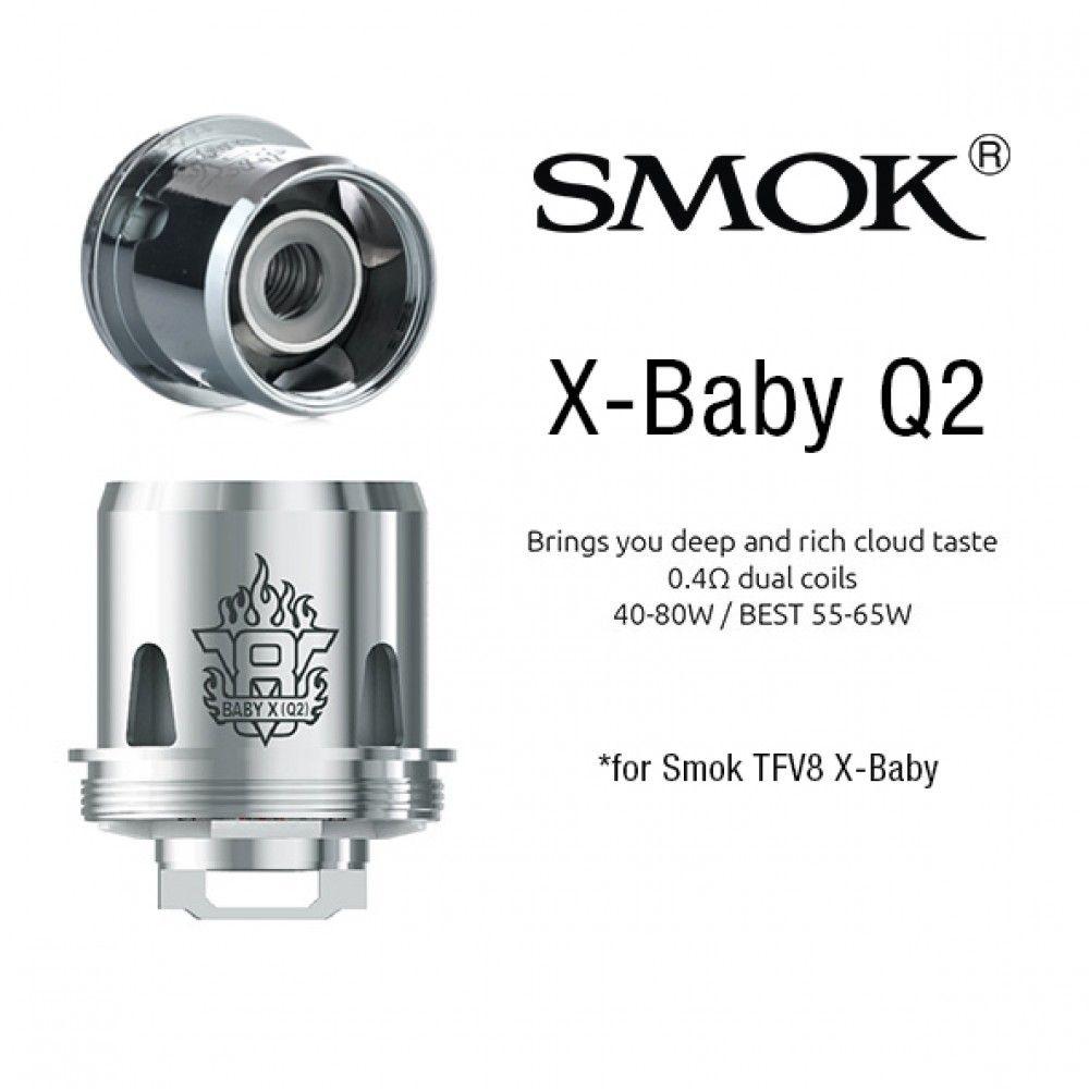 Žhavící hlava X-Baby Q2 pro Smok TFV8 X-Baby Tank - 0,4 ohm