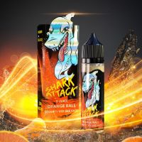 ORANGE BALL / Pomerančové bonbóny - Imperia Shark Attack shake & vape 10ml