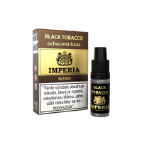BLACK TOBACCO - ochucená báze Imperia 5x10ml (50ml) exp. 4/2019