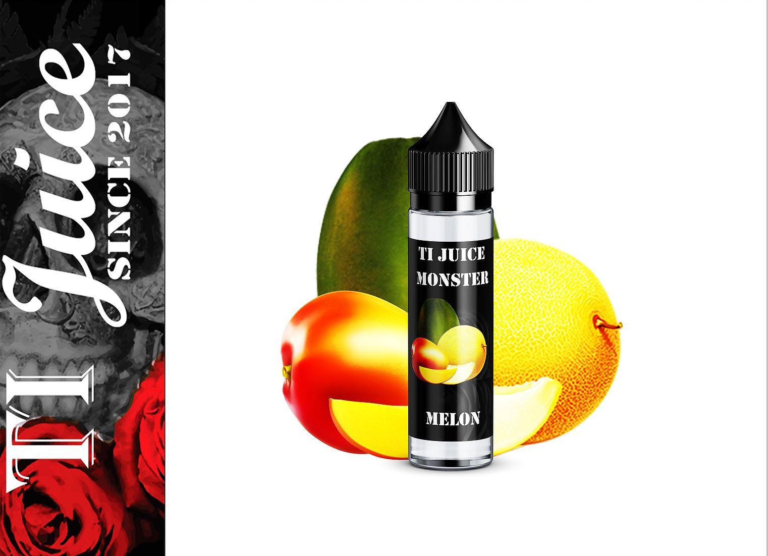 ŽLUTÝ MELOUN / Monster Melon - TI Juice shake & vape 15 ml
