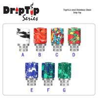 Tophus and Stainless Steel Drip Tip 510