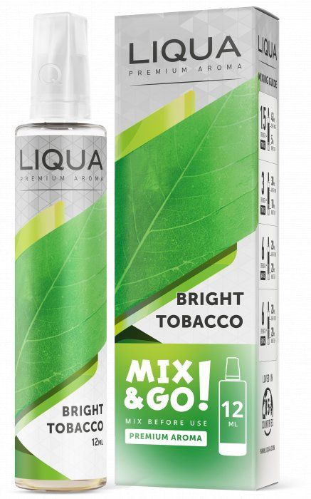 ČISTÝ TABÁK / Bright Tobacco - LIQUA Mix&Go 12ml Ritchy Group