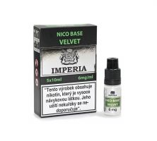 Velvet Base Imperia 6 mg - 5x10ml (20PG/80VG)