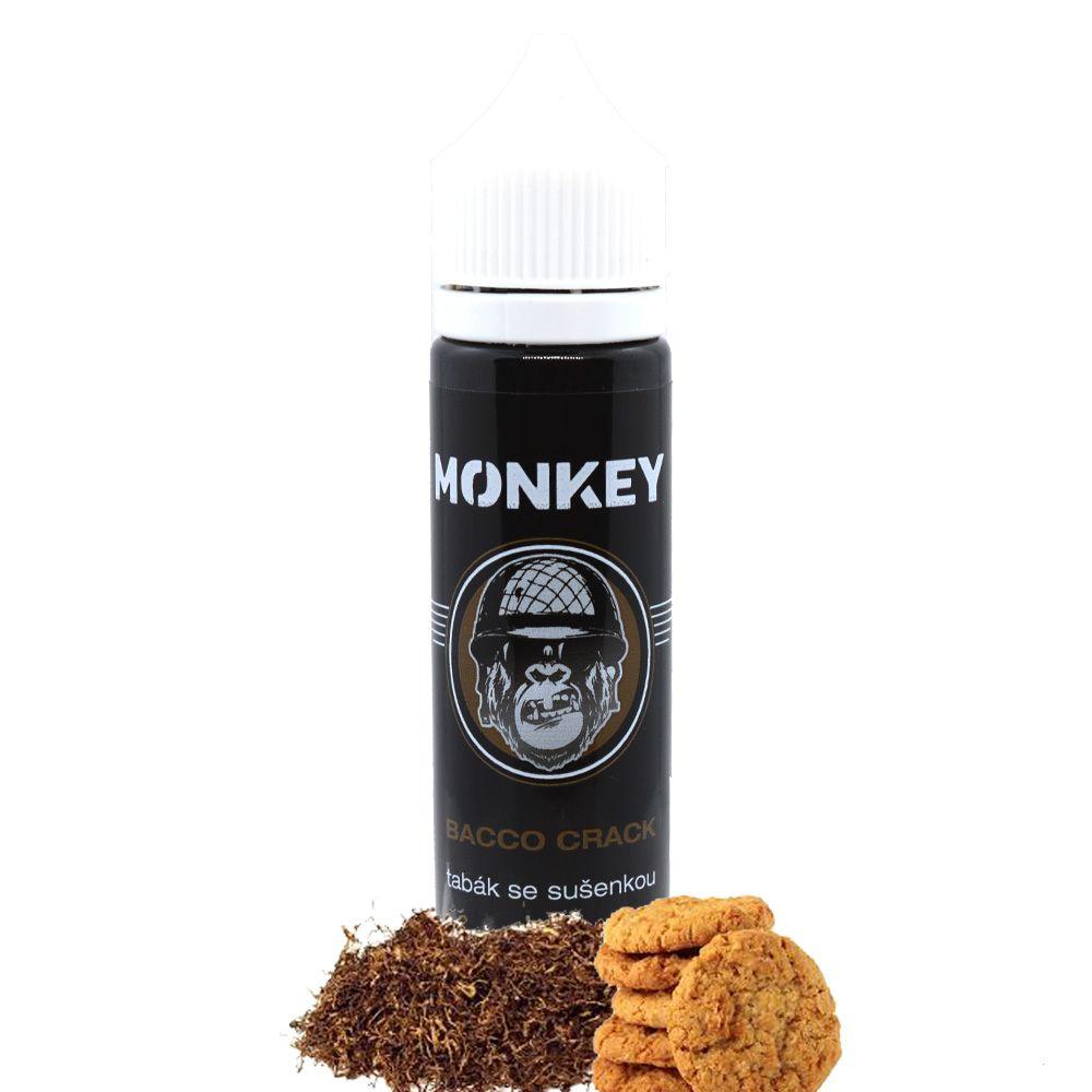 BACCO CRACK / Tabák se sušenkou - Monkey shake&vape 12ml Monkey liquid s.r.o.