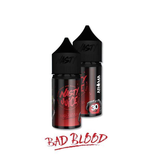 BAD BLOOD /černý rybíz a mentol/ - aroma Nasty Juice 30 ml