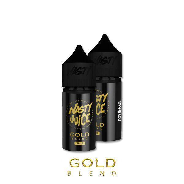 GOLD BLEND /doutníkový tabák a mandle/ - aroma Nasty Juice 30 ml