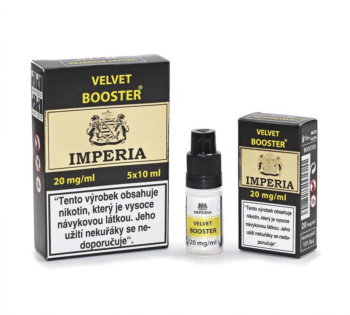 IMPERIA Velvet Booster 20mg - 5x10ml (20PG/80VG) Boudoir Samadhi s.r.o.