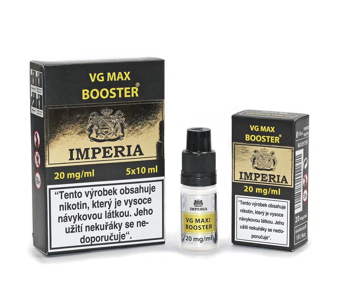 IMPERIA VG max Booster 20mg - 5x10ml (VG100%) Boudoir Samadhi s.r.o.