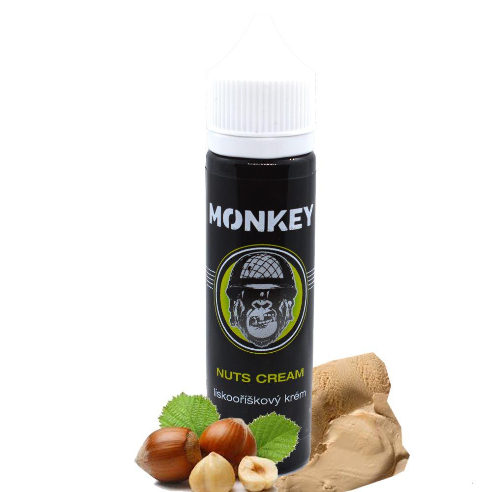 NUTS CREAM / Lískooříškový krém - Monkey shake&vape 12ml Monkey liquid s.r.o.
