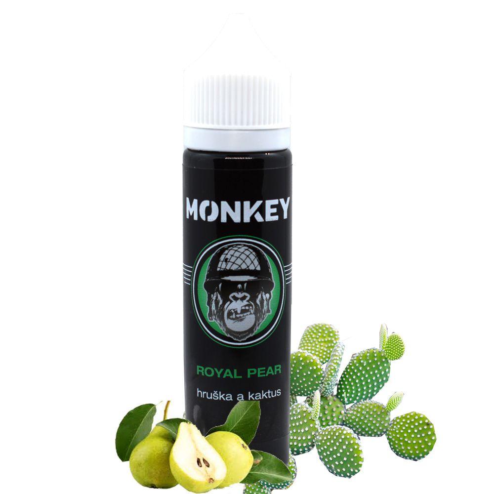 ROYAL PEAR / Hruška a kaktus - Monkey shake&vape 12ml Monkey liquid s.r.o.