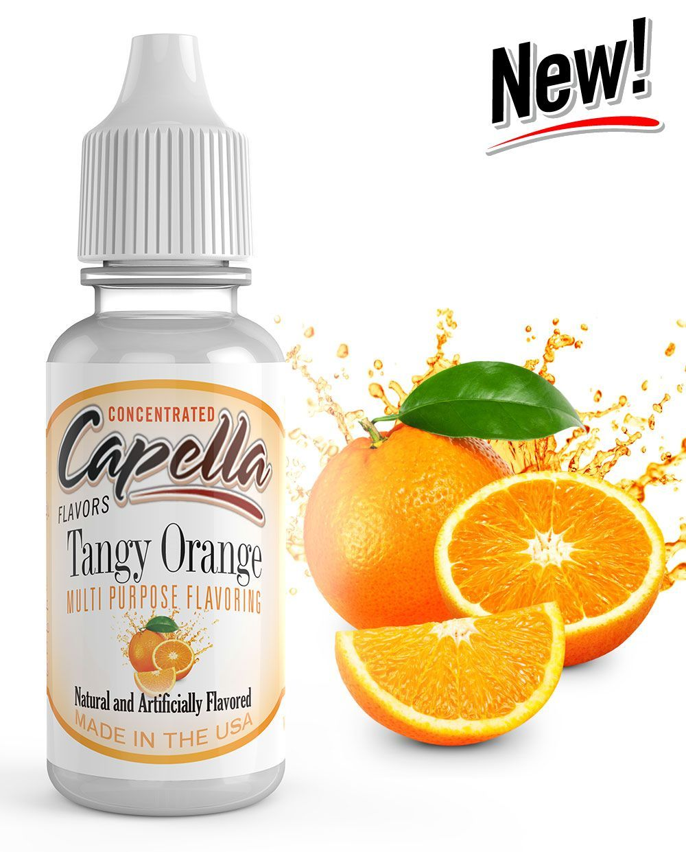 ŠŤAVNATÝ POMERANČ / Tangy Orange - Aroma Capella 13 ml