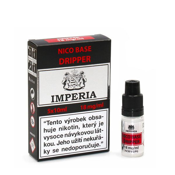 Dripper Base Imperia 18 mg - 5x10ml (30PG/70VG) Boudoir Samadhi s.r.o.
