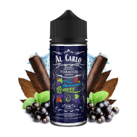 BLACKCURRANT LEAVES - Černý rybíz & tabák - shake&vape AL CARLO 15 ml