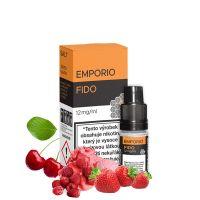 FIDO (Malinový krém s jahodou a třešní) - E-liquid Emporio Salt 10ml