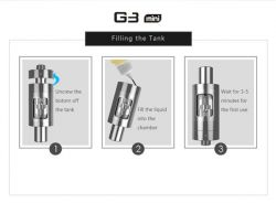 G3 mini clearomizer - 2 ml Green Sound