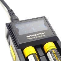 Nitecore D2 nabíječka s displejem 2 sloty SYSMAX Industry Co., Ltd.