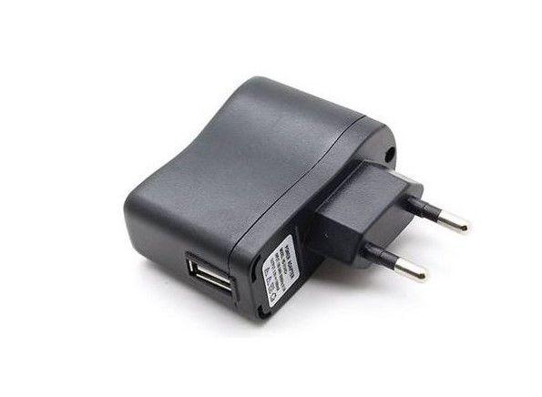 USB Síťový adaptér 220V (redukce) pro baterie EGO - 1A (1000 mAh) Green Sound