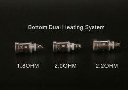 Žhavící hlava pro GS PTS01 - dual coil 1,8 / 2,0 / 2,2 Ω