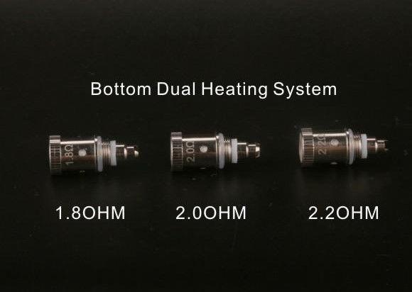 Žhavící hlava pro GS PTS01 - dual coil Green Sound