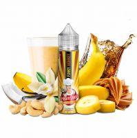 FUNKY MONKEY (Banánový milkshake, kokos, nugát, ořechy)  - PJ Empire -  shake&vape Cream Queen 12 ml