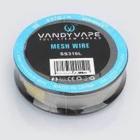 MESH Vandy Vape - SS316L, 1,5m