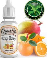 POMERANČ A MANGO SE STÉVIÍ / Orange Mango with Stevia - Aroma Capella 13ml