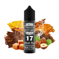 Tobacco Bastards No.17 DARK FIRE - shake&vape Flavormonks 12 ml - Doprodej