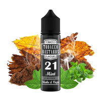 Tobacco Bastards No.21 MINT - shake&vape Flavormonks 12 ml
