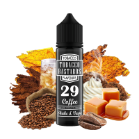 Tobacco Bastards No.29 COFFEE - shake&vape Flavormonks 12 ml - Doprodej