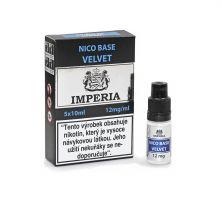 Velvet Base Imperia 12 mg - 5x10ml (20PG/80VG) exp. 4/21