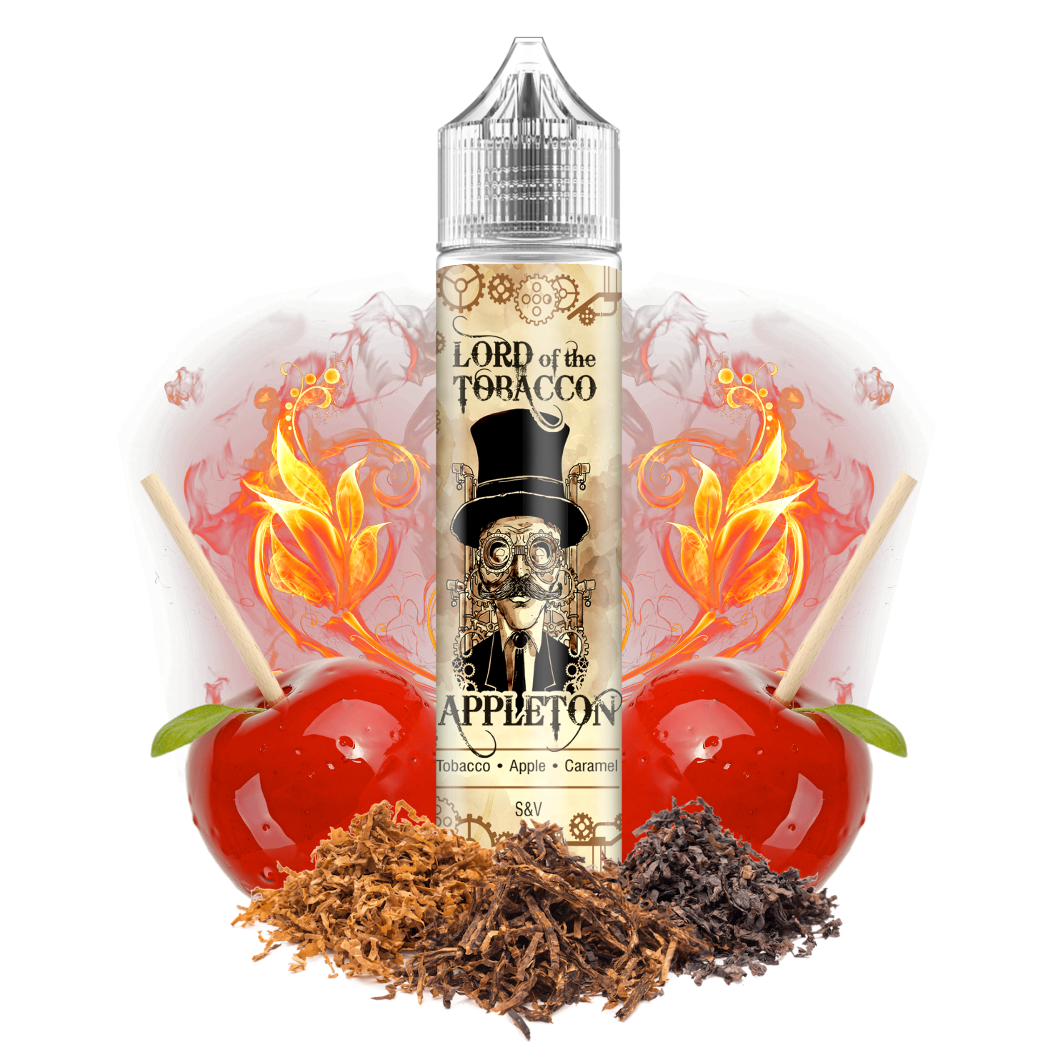 APPLETON / tabák, pečená jablka, karamel - Lord of the Tobacco shake&vape 12ml Dream Flavor