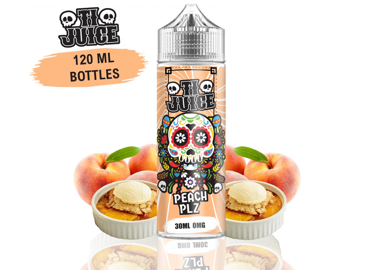 PEACH PLZ / Broskvový koláč - 120ml - TI Juice shake & vape