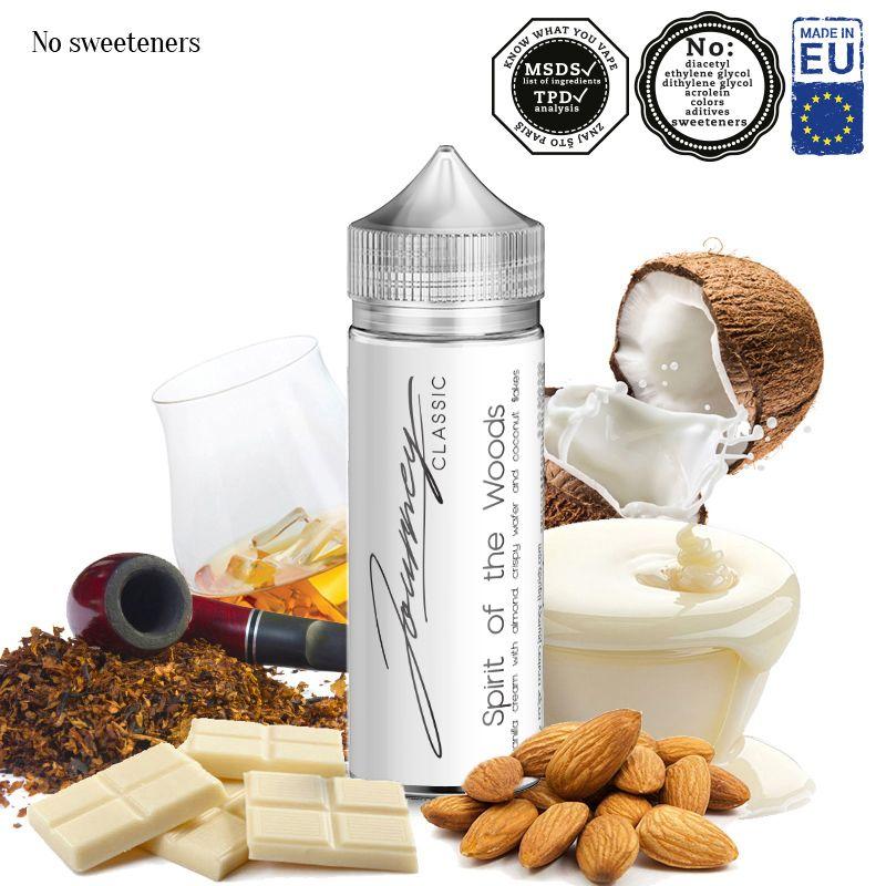 SPIRIT OF THE WOODS / kokos, vanilka, čokoláda, tabák - shake&vape AEON 24ml