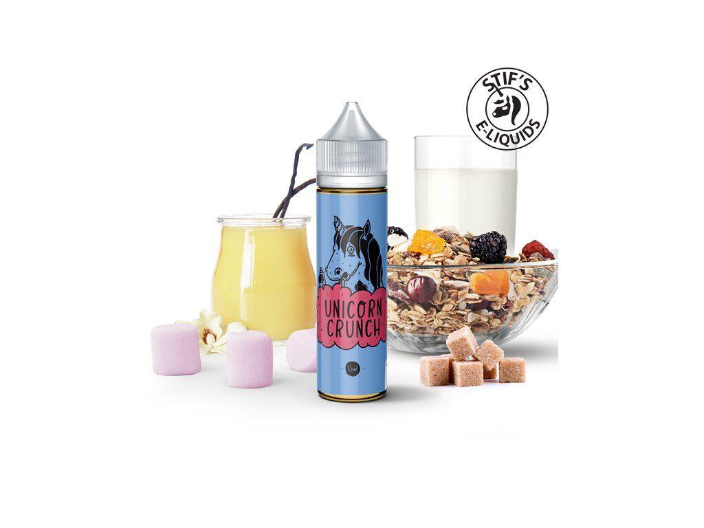 UNICORN CRUNCH / Cereálie, mléko, lesní plody - STIFS shake&vape 15ml