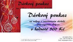 DÁRKOVÝ POUKAZ 1500,- KČ
