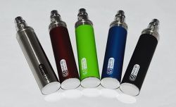 Elektronická cigareta GS EGO III 3200 mAh, GS H2 1,5 ml sada 2 ks Green Sound