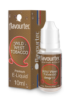 WILD WEST TOBACCO - e-liquid FLAVOURTEC 10ml