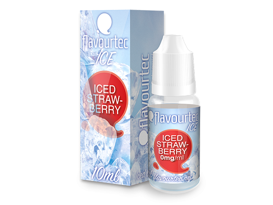 ICED STRAWBERRY - e-liquid FLAVOURTEC 10ml