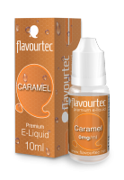 CARAMEL - e-liquid FLAVOURTEC 10ml exp.:2/20