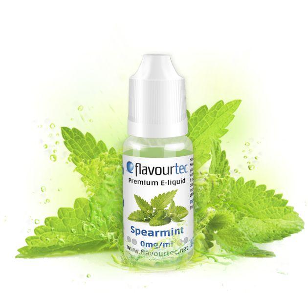 SPEARMINT (Green Mint) - e-liquid FLAVOURTEC 10ml