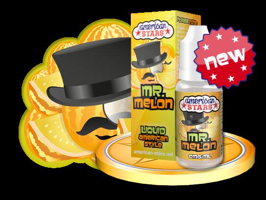 MR.MELON - e-liquid American Stars 10ml Flavourtec