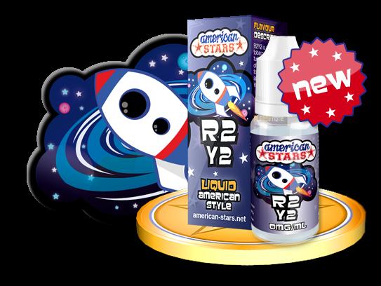 R2Y2 - e-liquid American Stars 10ml Flavourtec