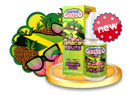 JAMAICAN FRUIT - e-liquid American Stars 10ml